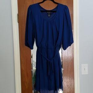 Lightweight blue dress